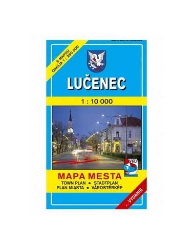 Losonc térkép (Lucenec)
