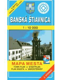 Selmecbánya térkép - Banská...