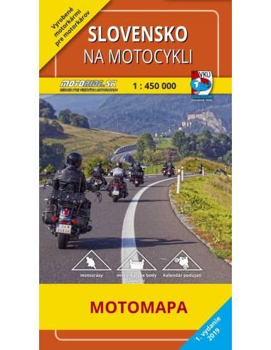 Szlovákia motoros térkép (Slovensko...