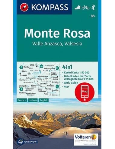KK 88 Monte Rosa, Valle Anzasca,...