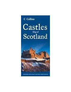Castles Map of Scotland -...