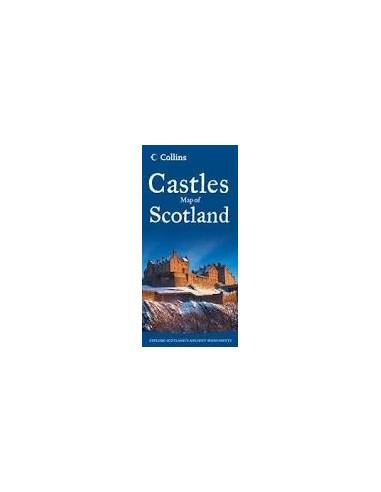 Castles Map of Scotland - Skócia...