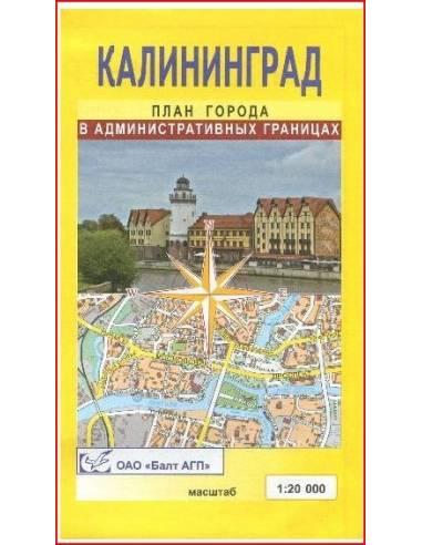 Kalinyingrád térkép