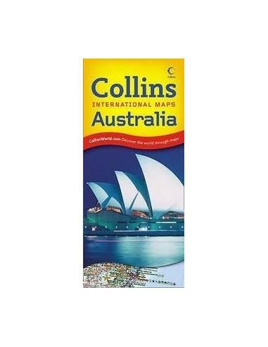 Ausztrália térkép