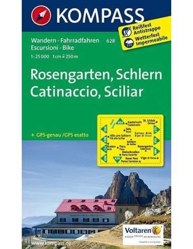 KK 628 Rosengarten - Catinaccio,...