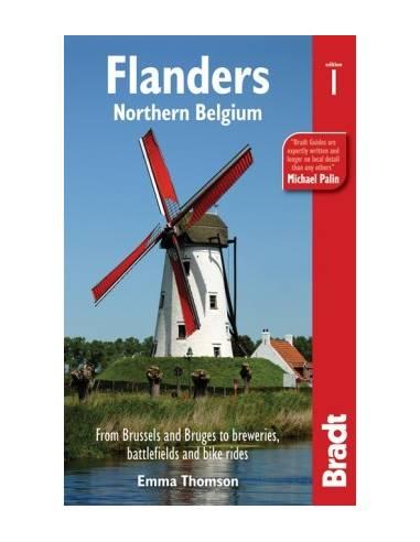 Flanders - Flandria - Bradt útikönyv