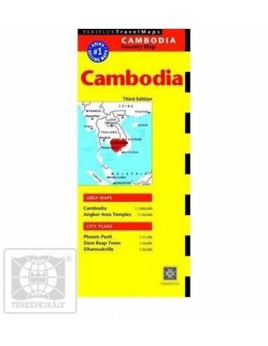 Kambodzsa / Phnom Penh térkép