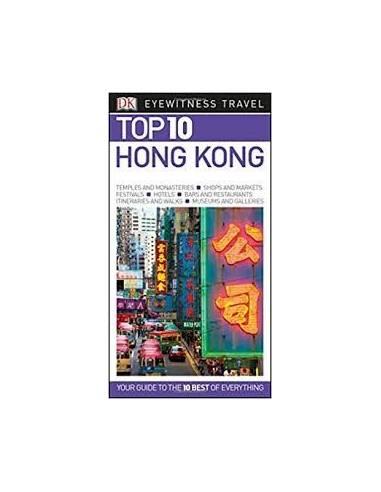 Hongkong / Hong Kong TOP 10 útikönyv