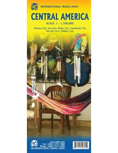 Central America - Közép-Amerika térkép