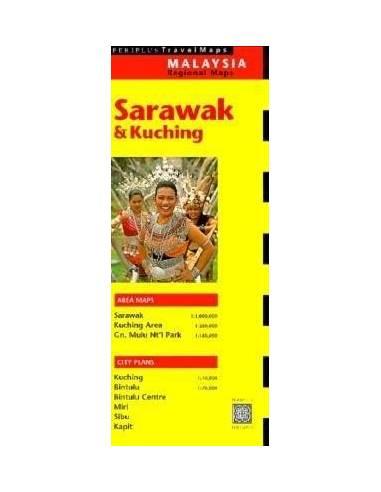 Sarawak / Kuching térkép
