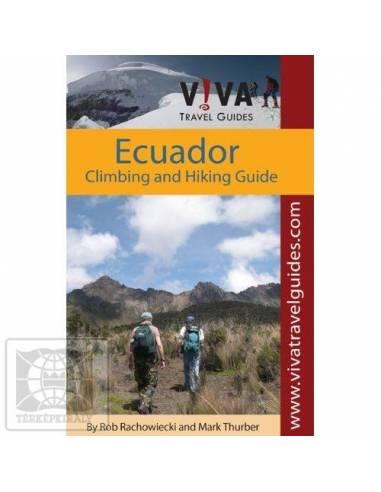 Ecuador hegymászó és túra könyv