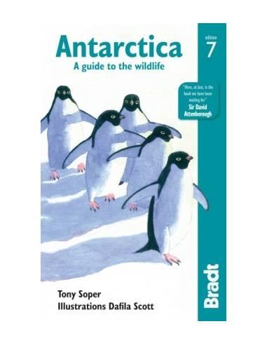 Antarctica - Antarktisz Bradt útikönyv