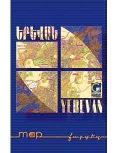 Yerevan - Jereván térkép
