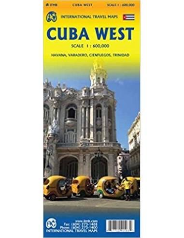 Cuba West Map - Nyugat-Kuba térkép