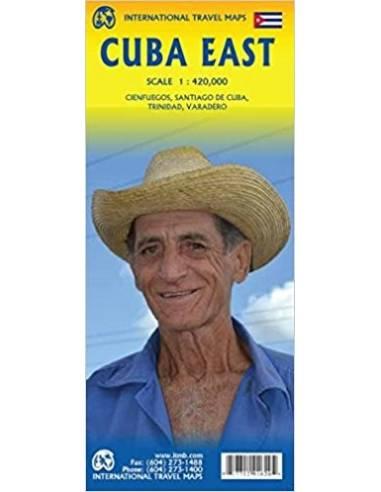 Cuba East Map - Kelet-Kuba térkép