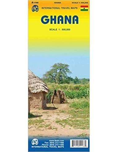 Ghana térkép