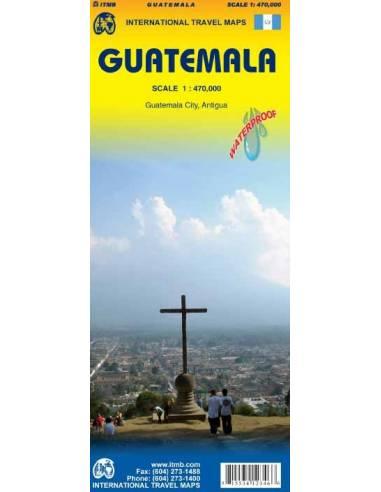 Guatemala térkép