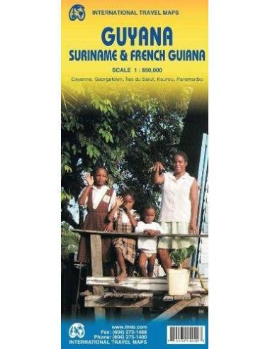Guyana, Surniname, French Guiana...