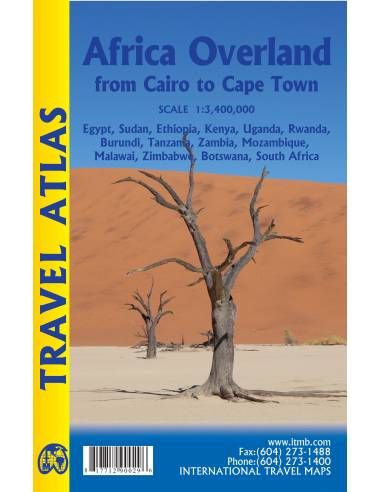 Africa Overland Travel Atlas: Cairo...