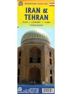 Irán térkép - ITM