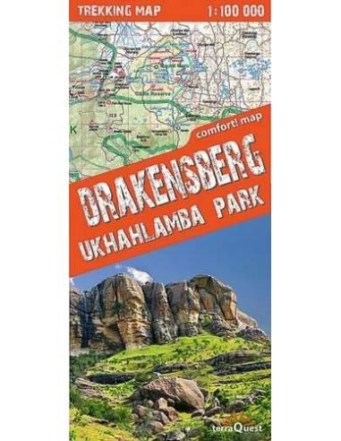 Drakensberg Ukhahlamba Park comfort! map