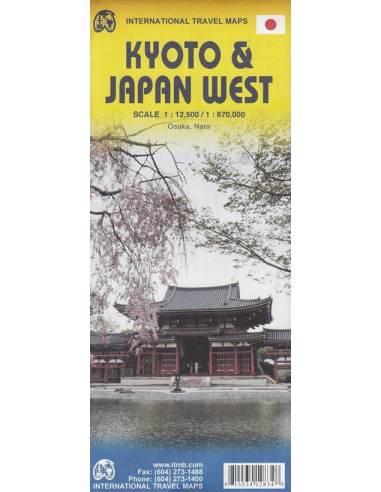 Kyoto & Japan West térkép