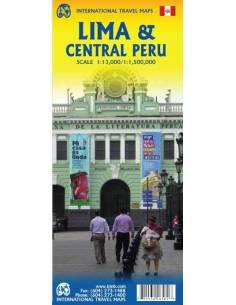 Lima & Central Peru térkép