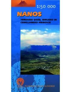 Nanos térkép