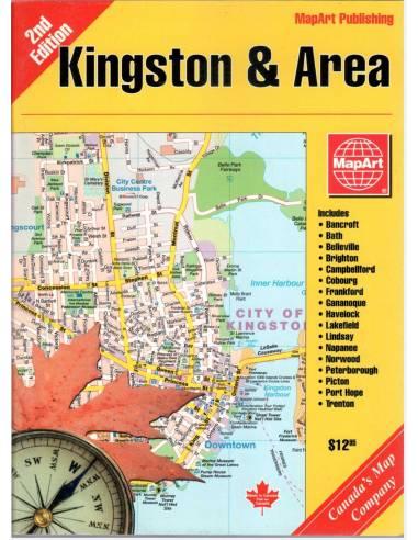 Kingston és környéke atlasz