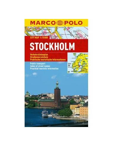 Stockholm MARCO POLO Cityplan
