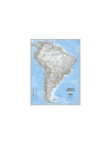 Dél-Amerika - South America falitérkép