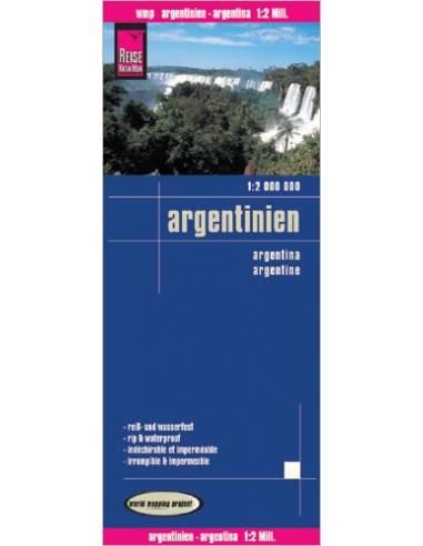 RKH Argentinien - Argentína térkép