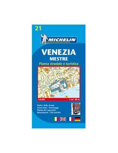 MN 21 Velence térkép - Venezia