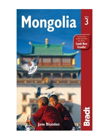 Mongolia - Bradt útikönyv