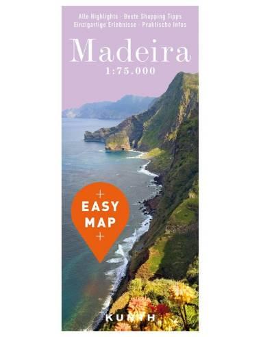 Madeira – Urlaubskarte EASY MAP