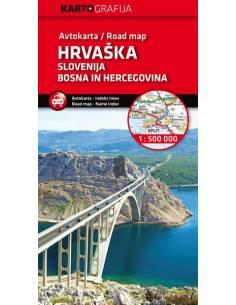 Slovenija, Hrvaška, BIH -...