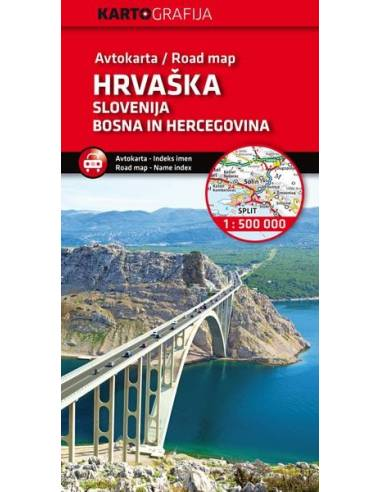 Slovenija, Hrvaška, BIH - Szlovénia,...