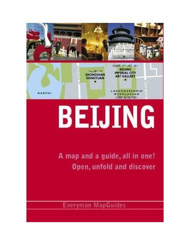 Beijing - Peking útikönyv és térkép