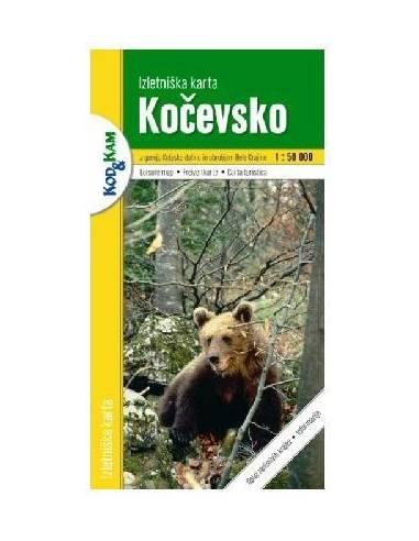 Kocevsko térkép
