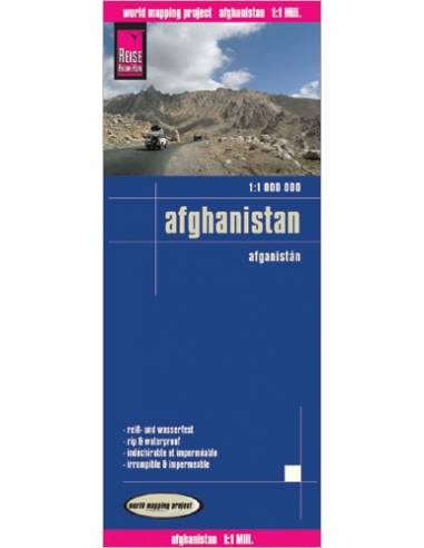 RKH Afghanistan - Afganisztán térkép