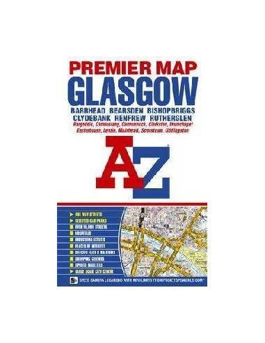 Glasgow Premier térkép (A-Z)
