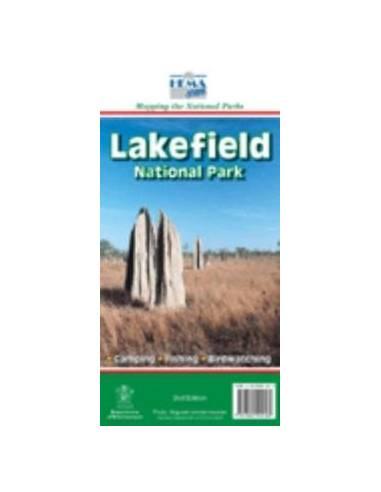 Lakefield Nemzeti Park térkép