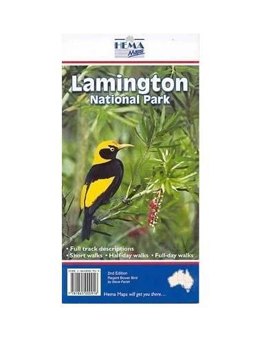 Lamington Nemzeti Park térkép