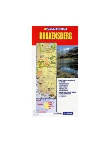 Drakensberg térkép