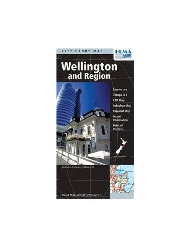Wellington és környéke térkép (Handy...