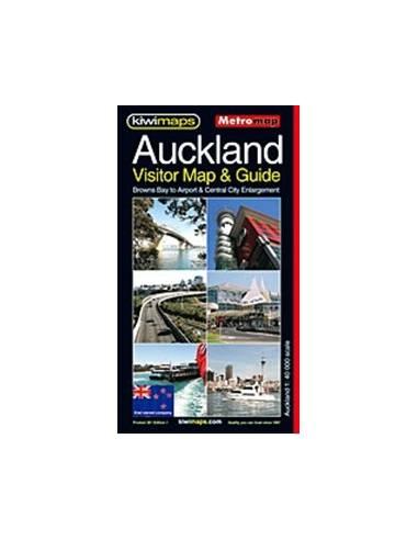 Auckland turista térkép
