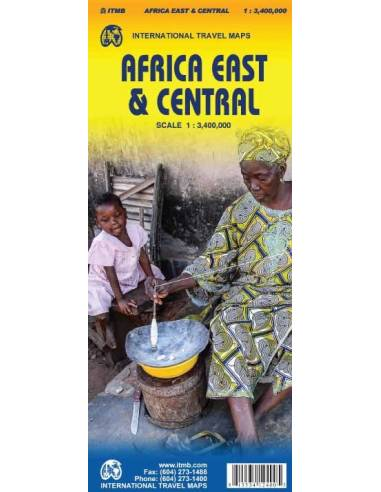 Africa East and Central - Kelet- és...