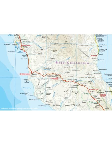 Rkh Baja California Also Kalifornia Terkep