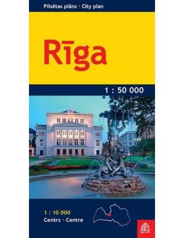 Riga zsebtérkép