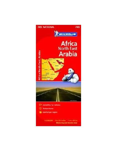 MN 745 Africa North East - Arabia -...